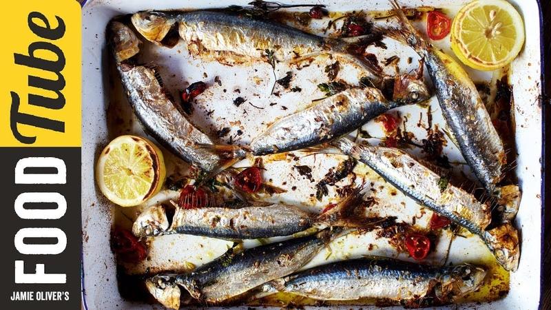 Roasted Sardines Jamie Oliver