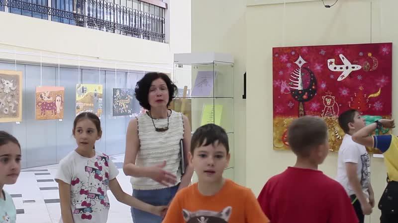 Экскурсия Желтой комнаты глаз МВЦ Зеленогорск