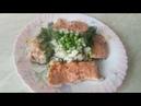 Горбуша с рисом и зеленым горошком - вкус необыкновенный