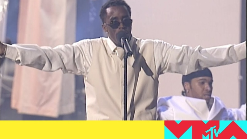 Diddy Faith Evans Sting Perform 'I'll Be Missing You' 1997 VMAs