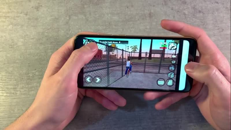 Игры Huawei Y6 2018 (GTA_SanAndreas, PUBG_Mobile, Unkilled)