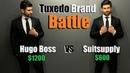Tuxedo Brand Battle  Hugo Boss VS Suitsupply   Which Brand Is Better (IMO)?