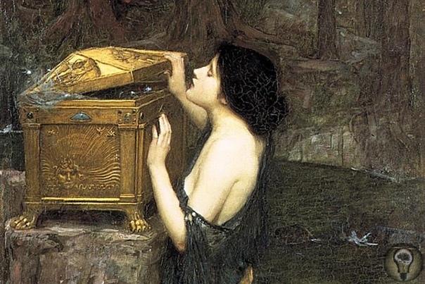 Что хранилось в ящике Пандоры В древнегреческий миф, как в повествование, сложившееся в предписьменную эпоху, встроено особое устройство, с помощью которого всякий, кто переписывает или