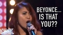 Beyoncé Soundalike Delivers A STUNNING Audition! | X Factor Global
