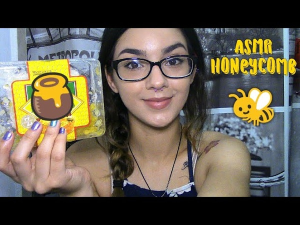 ASMR|| Eating Honeycomb|| Mouth Sounds