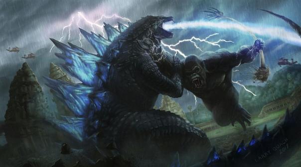 Битва Годзиллы и Конга перенесена на 8 месяцев
