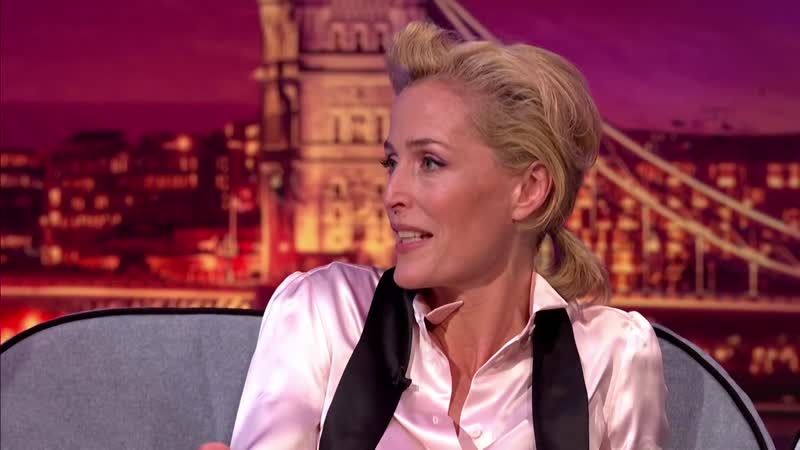 Gillian Anderson, Tom Hanks Facing fears Late Late Show