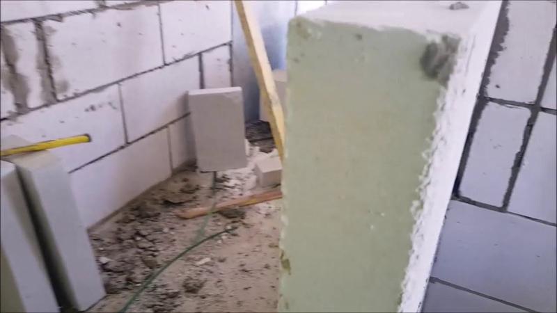Почему газосиликат пенобетон кладут на раствор