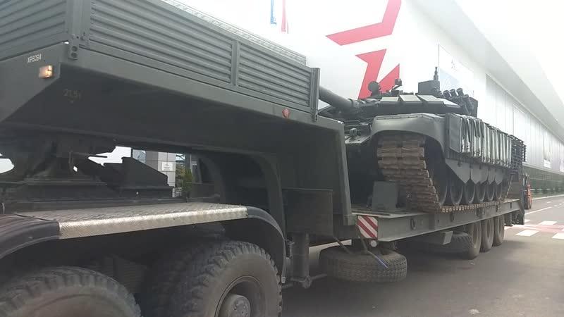 Модернизированный Т 72
