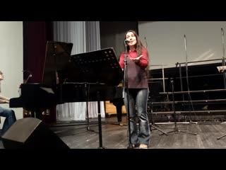 Евгения Жуковская и Елена Поповская - A Chloris' (Reynaldo Hahn)