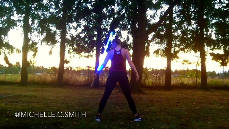 CRAZY LIGHTSABER SPINNING Watch this video