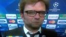 Jurgen Klopp's Reaction to Dortmund's Goal Being Offside
