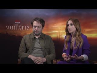 Netflix Hakan_ Muhafız Röportajı - Burçin Terzioğlu ve Okan Yalabık _ Röportaj #