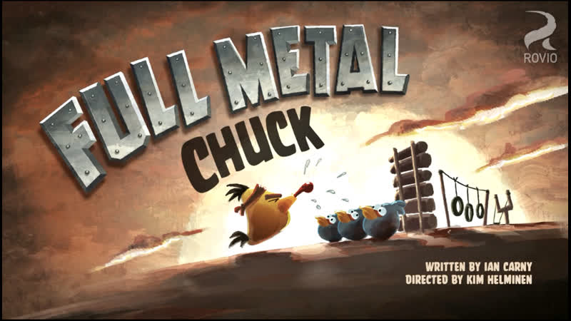 003. Цельнометаллический Чак (♥ Злые птицы) Мультики для детей мультсериалы