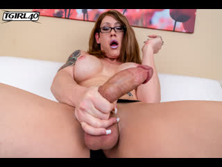 {Tgirl40} Sultry But Naughty Kimber Haven -  [Mature, Transsexual, Solo, Masturbation, 720p]