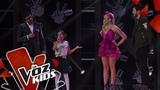Yina Paola canta Me Gustas Mucho Audiciones a Ciegas La Voz Kids Colombia 2019