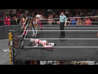 WWE 2K19 - The Beautiful People and Mickie James VS Taya Valkyrie Carmella and Bianca BelAir