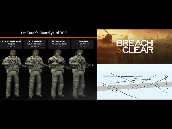 игровой процесс Breach and Clear Архив Татарские Гвардейцы Федерации 3 Автономий