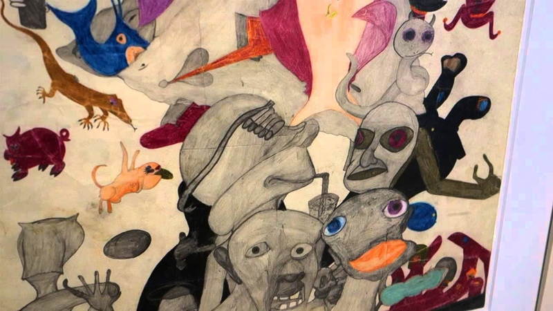 Susan Te Kahurangi King Drawings from Many Worlds Curated by Chris Byrne at ANDREW EDLIN