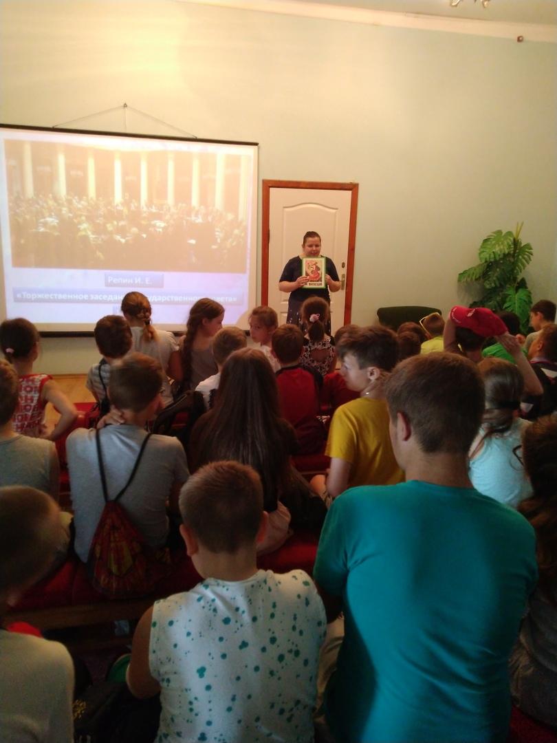 отдел обслуживания учащихся 5-9 классов, Донецкая республиканская библиотека для детей, лето в библиотеке, работа с пришкольными лагерями, разговор о добре