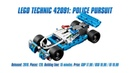 LEGO Technic 42091 Police Pursuit In-depth Review, Speed Build Parts List 4K