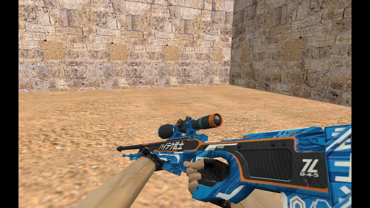 Скины оружия в Counter-Strike 1.6