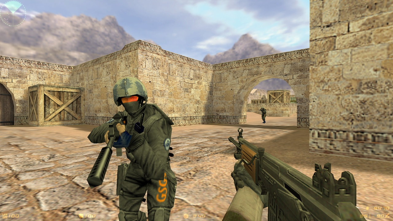 Спецназ в Counter-Strike 1.6