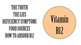 The Truth About Vitamin B12 - Vegan Nutrition, Food Sources, B12 Lies &amp Deficiency Symptoms