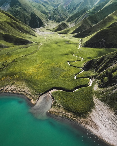 Кезенойам (Озеро на границе Чечни и Дагестана)