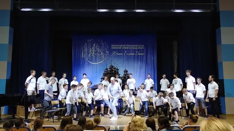 Мастер-класс Хирво Сурва в зале ПетрГУ в рамках фестиваля Юные голоса Онего (г. Петрозаводск, 7.06.19)
