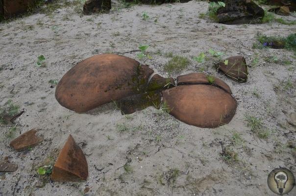 Каменные мячи великанов из Коми