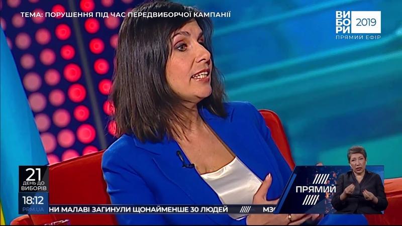 Ток-шоу ВИБОРИ-2019 від 10 березня 2019 року Ведучий Микола Вересень