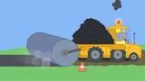 Peppa Pig New Episodes - Mr Bull's New Road - Kids Videos
