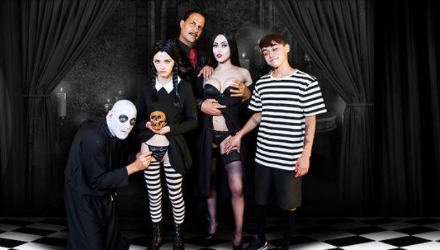TeamSkeet - Addams Family Orgy