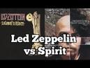 LED ZEPPELIN vs SPIRIT Lawsuit Stairway To Heaven Comparison