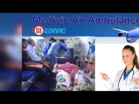 World Class Medical Services Medivic Air Ambulance from Kolkata to Delhi