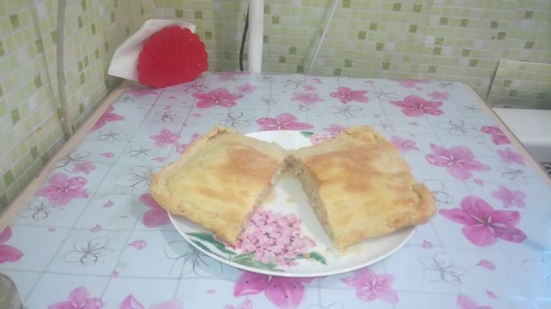Вкуснейший пирог с мясом Едим дома Сам себе повар Домашняя кухня