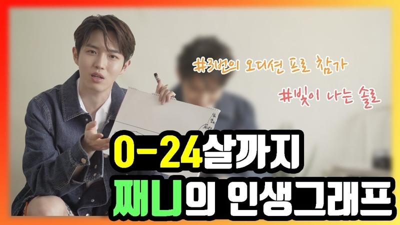 아이돌 인생그래프 l 김재환의 첫 무대 경험은 초3