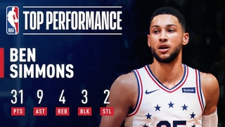 Ben Simmons DOES IT ALL in Brooklyn! | April 18, 2019 #NBANews #NBA #76ers #BenSimmons