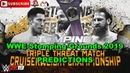 WWE Stomping Grounds 2019 Cruiserweight Championship Tony Nese vs Akira Tozawa vs Drew Gulak Predi
