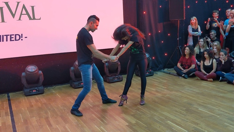 WZF2019: Aline Michael in Saturday class demo ~ Zouk Soul