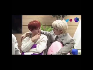 Monsta X try not to cringe while staring at each other - Failed