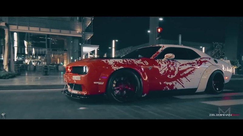 Dodge Challenger HELLCAT Showtime ¦ TroyBoi - Do You؟ (Bass Boosted) 2018