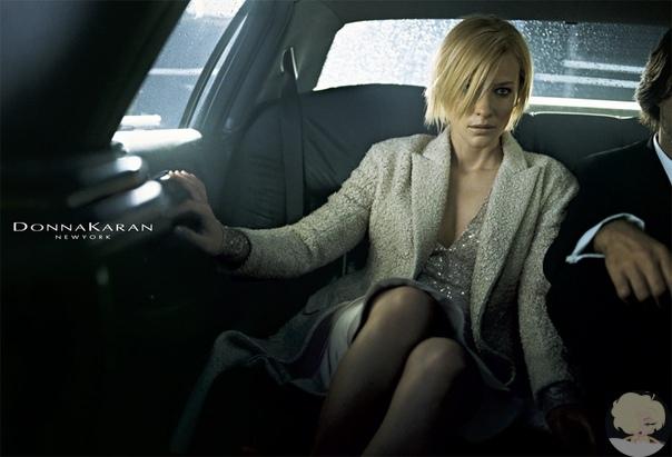 Кейт Бланшетт в рекламной кампании бренда Donna aran 2003
