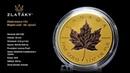 Zlatá mince Maple Leaf 1 Oz 40 výročí 2019 Proof