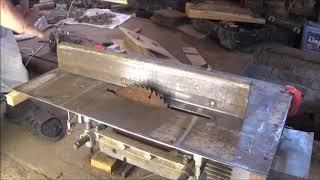 Алмазная заточка дисковых пил с напайками на циркулярном станке