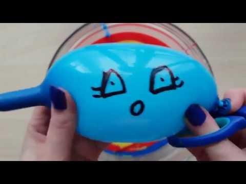 Komik Balonlar ve Su Oyuncaklarıyla SLİME Yapma 2