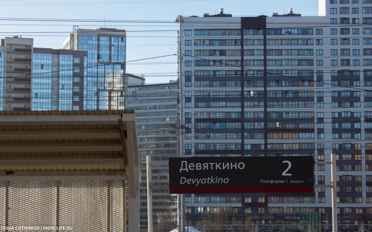 Станция Девяткино