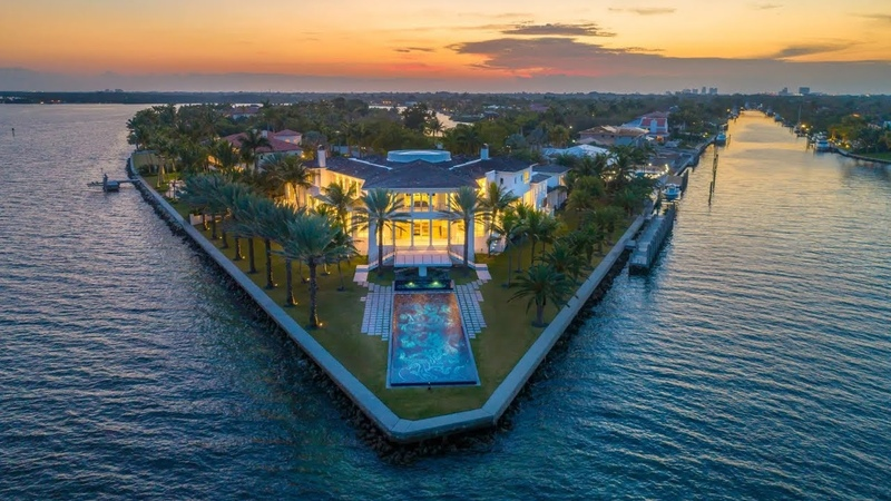 The most luxurious mega mansion ever in Coral Gables, Florida