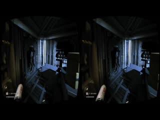 Virtual Reality. Alien 3D VR SBS